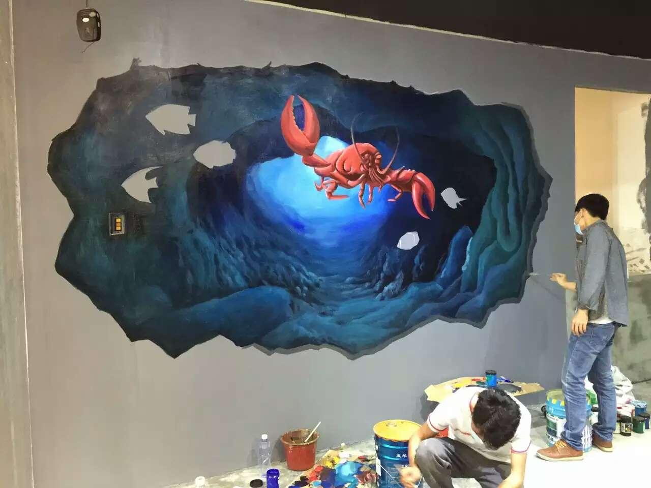 3d手绘螃蟹